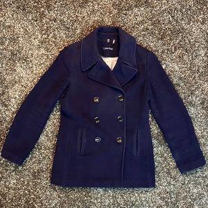 Calvin Klein Navy Blazer Coat